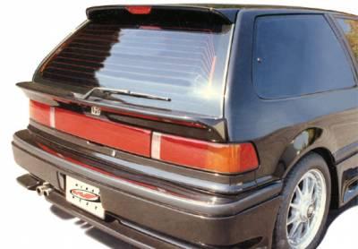 VIS Racing - Honda Civic HB VIS Racing Factory Style Rear Window Mid-Wing - 49163