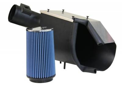 Bully Dog - Ford F150 Bully Dog Rapid Flow Air Induction - Enclosed - Powder Coated Steel with Aluminum Lid - 51100