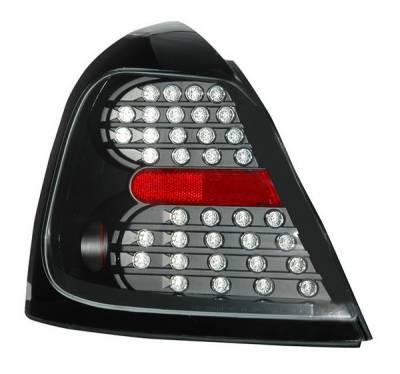 Anzo - Pontiac Grand Prix Anzo LED Taillights - Black - 321150
