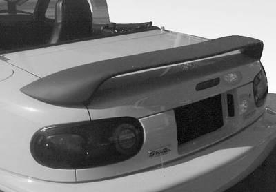 VIS Racing - Mazda Miata VIS Racing WW Style Wing with Corner Trunk Pedestals - 49620