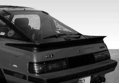 VIS Racing - Mazda RX-7 VIS Racing Factory Style Wrap Around Spoiler - 49972