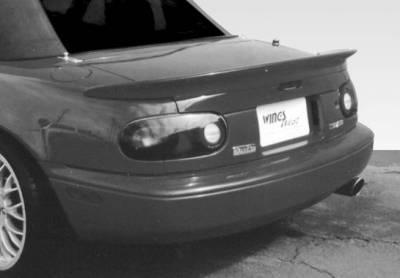 VIS Racing - Mazda Miata VIS Racing Custom Lip Spoiler - Fiberglass - 490012