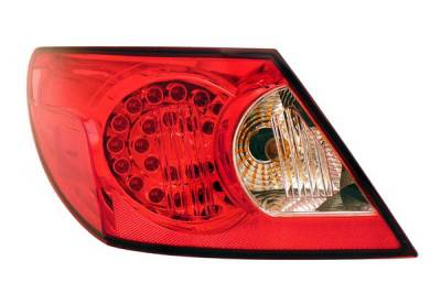 Anzo - Chrysler Sebring 4DR Anzo LED Taillights - Red & Clear - 321179