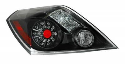 Anzo - Nissan Altima Anzo LED Taillights - Black - 321194