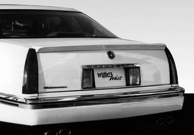 VIS Racing - Cadillac Eldorado VIS Racing Deck Lid Wing - 591069