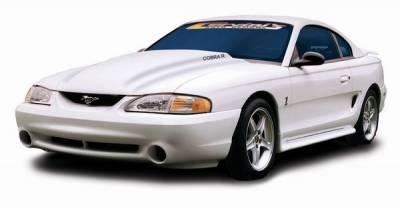 Cervinis - Ford Mustang Cervinis 1995 Style Cobra R Hood - 72013