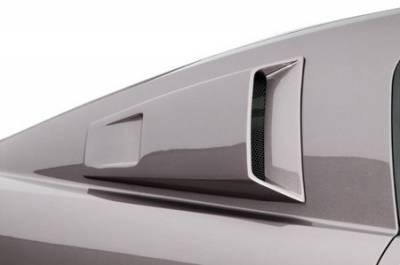 Cervinis - Ford Mustang Cervinis Quarter Window Scoops - 72015
