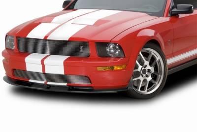 Cervinis - Ford Mustang Cervinis Replacement Upper Grille with Cobra Emblem - 72051