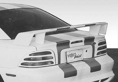VIS Racing - Ford Mustang VIS Racing Touring Style Wing without Light - 591270