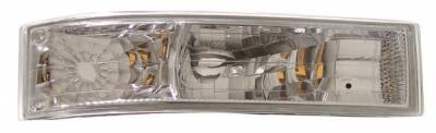 Anzo - GMC Safari Anzo Euro Parking Lights - with Amber Reflector - 511004