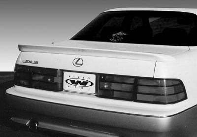 VIS Racing - Lexus LS400 VIS Racing Flush Mount Wing without Light - 591358