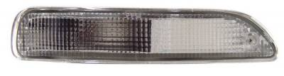 Anzo - Toyota Corolla Anzo Euro Bumper Lights - with Amber Reflector - 511017