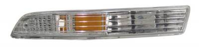 Anzo - Acura Integra Anzo Euro Bumper Lights - with Amber Reflector - 511020