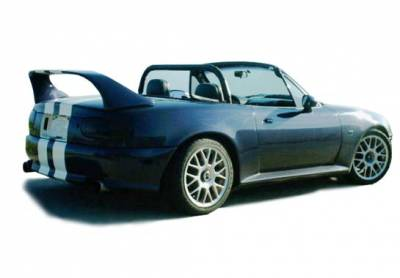 VIS Racing - Mazda Miata VIS Racing Mid-Wing without Light - Fiberglass - 591402