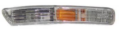 Anzo - Acura Integra Anzo Euro Bumper Lights - with Amber Reflector - 511021
