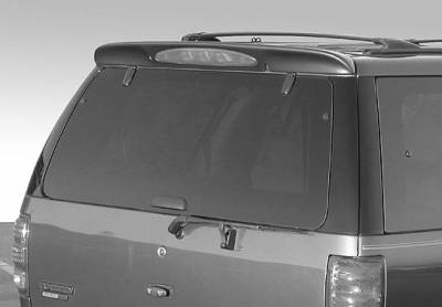 VIS Racing - Ford Expedition VIS Racing W-Type Roof Spoiler without Light - 591436