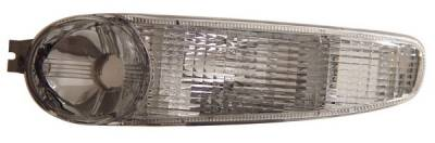 Anzo - GMC Yukon Anzo Parking Lights - Clear with Amber Reflectors - 511030