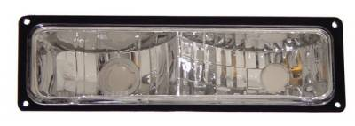 Anzo - Chevrolet Blazer Anzo Parking Lights - Black - 511033