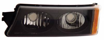 Anzo - Chevrolet Avalanche Anzo Parking Lights - Crystal - JDM Black - 511036