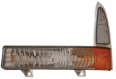 Anzo - Ford Excursion Anzo Euro Parking Lights - with Amber Reflector - 511039
