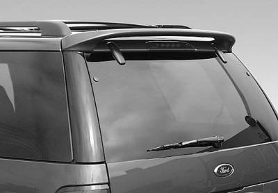 VIS Racing - Ford Explorer VIS Racing W-Type Roof Spoiler without Light - 591544