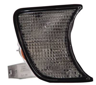 Anzo - BMW 5 Series Anzo Corner Lights - Clear with Amber Reflectors - 521007