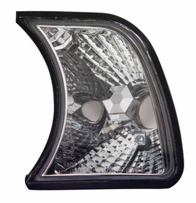 Anzo - BMW 5 Series Anzo Corner Lights - Clear with Amber Reflectors - 521008