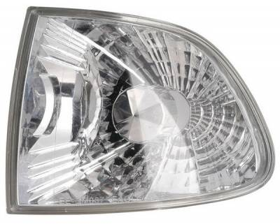 Anzo - BMW 7 Series Anzo Euro Corner Lights - with Amber Reflector - 521009