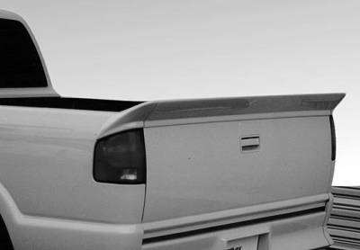VIS Racing - Chevrolet S10 VIS Racing Tailgate Spoiler without Light - 3PC - 890095