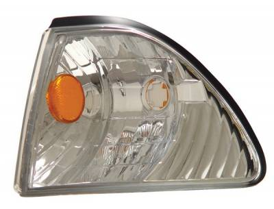 Anzo - Ford Mustang Anzo Euro Corner Lights - with Amber Reflector - 521015