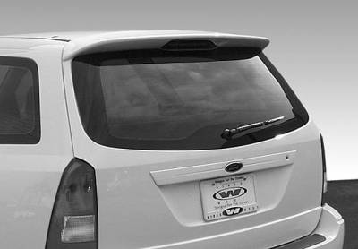 VIS Racing - Ford Focus Wagon VIS Racing W-Type Roof Spoiler without Light - 890619