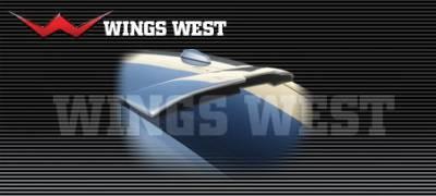 Wings West - Chrysler 300 Wings West LSC Custom Roof Spoiler - 890879