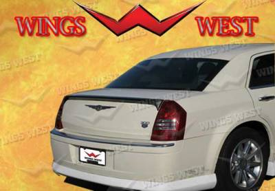 VIS Racing - Chrysler 300 VIS Racing VIP Rear Flush Mount Trunk Spoiler - Urethane - 890880