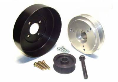 Auto Specialties - Auto Specialties Crank Pulley with 25 Percent Reduction - Nitride - 527728