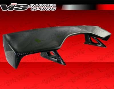 VIS Racing - Honda S2000 VIS Racing CR Carbon Fiber Rear Spoiler - 00HDS2K2DCR-003C