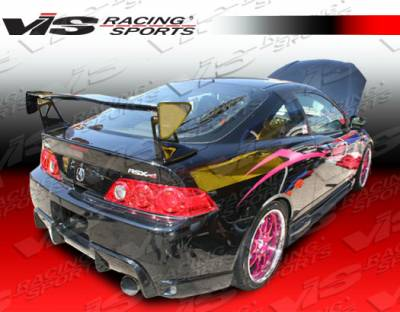 VIS Racing - Acura RSX VIS Racing Techno-R Carbon Fiber Spoiler - 02ACRSX2DTNR-003C