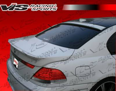 VIS Racing - BMW 7 Series VIS Racing A Tech Roof Spoiler - 02BME654DATH-023
