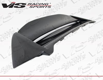 VIS Racing - Honda Civic HB VIS Racing Techno-R Spoiler Carbon Fiber - 02HDCVCHBTNR-003C