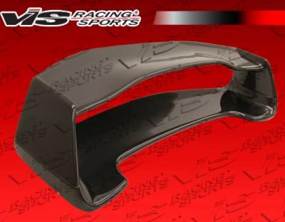 VIS Racing - Subaru WRX VIS Racing STI 3D Carbon Fiber Wing - 02SBWRX4DSTI3D-003C