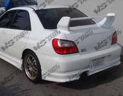VIS Racing - Subaru WRX VIS Racing Tracer Spoiler - 02SBWRX4DTRA-003