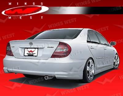 VIS Racing - Toyota Camry VIS Racing JPC Rear Spoiler - Polyurethane - 02TYCAM4DJPC-003P