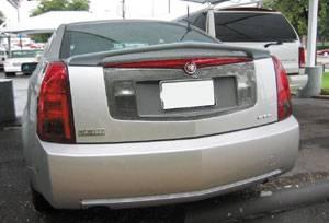 VIS Racing - Cadillac CTS VIS Racing VIP Rear Spoiler - 03CACTS4DVIP-003