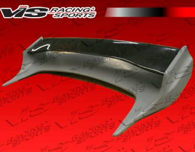 VIS Racing - Infiniti G35 2DR VIS Racing Invader Spoiler with Carbon Deck - 03ING352DINV-003CC