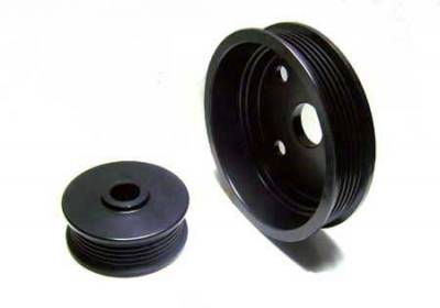 Auto Specialties - Auto Specialties Crank Pulley with 25 Percent Reduction - Full Charge 1100 RPM - Nitride - 541801