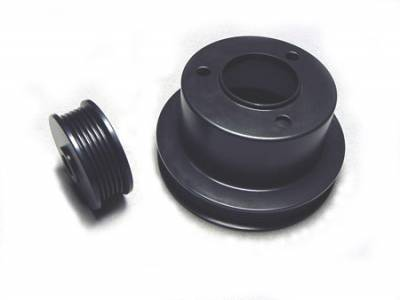 Auto Specialties - Auto Specialties Crank Pulley with 25 Percent Reduction - Full Charge 950 RPM - Nitride - 543801