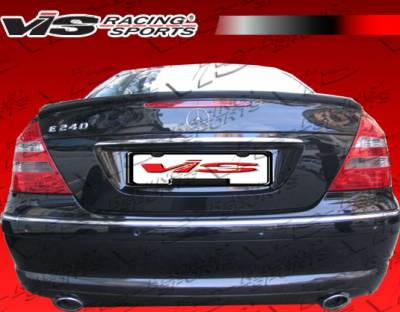 VIS Racing - Mercedes-Benz E Class VIS Racing Euro Tech Spoiler - 03MEW2114DET-003