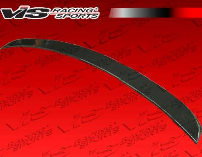 VIS Racing - Mercedes-Benz E Class VIS Racing Laser Carbon Fiber Trunk Spoiler - 03MEW2114DLS-003C
