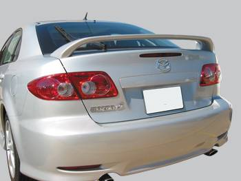 VIS Racing - Mazda 6 VIS Racing Factory Style Spoiler - 03MZ6S4DOE-003