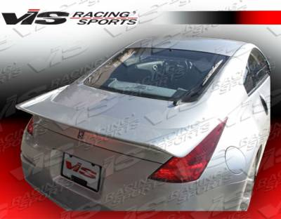 VIS Racing - Nissan 350Z VIS Racing Invader-2 Spoiler - 03NS3502DINV2-003