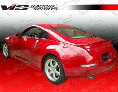 VIS Racing - Nissan 350Z VIS Racing Wings Spoiler - 03NS3502DWIN-003